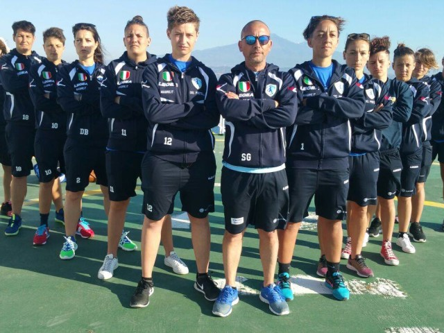 LADY TERRACINA IN CHAMPIONS A CATANIA