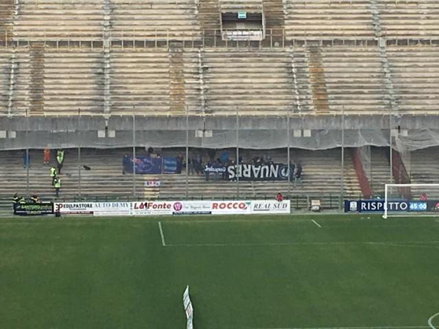 tifosi del novara a Salerno