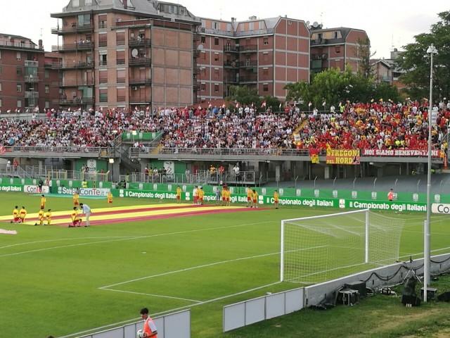 Carpi Benevento Finale Andata Playoff