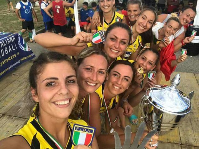 scudetto beach handball