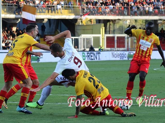 dzeko - Roma Benevento