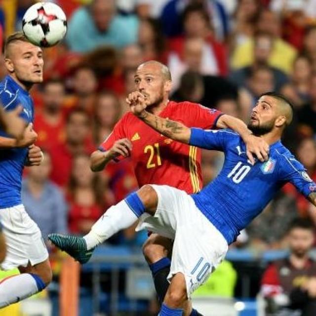 SPAGNA ITALIA 2017 Q. MONDIALI FONTE FIGC