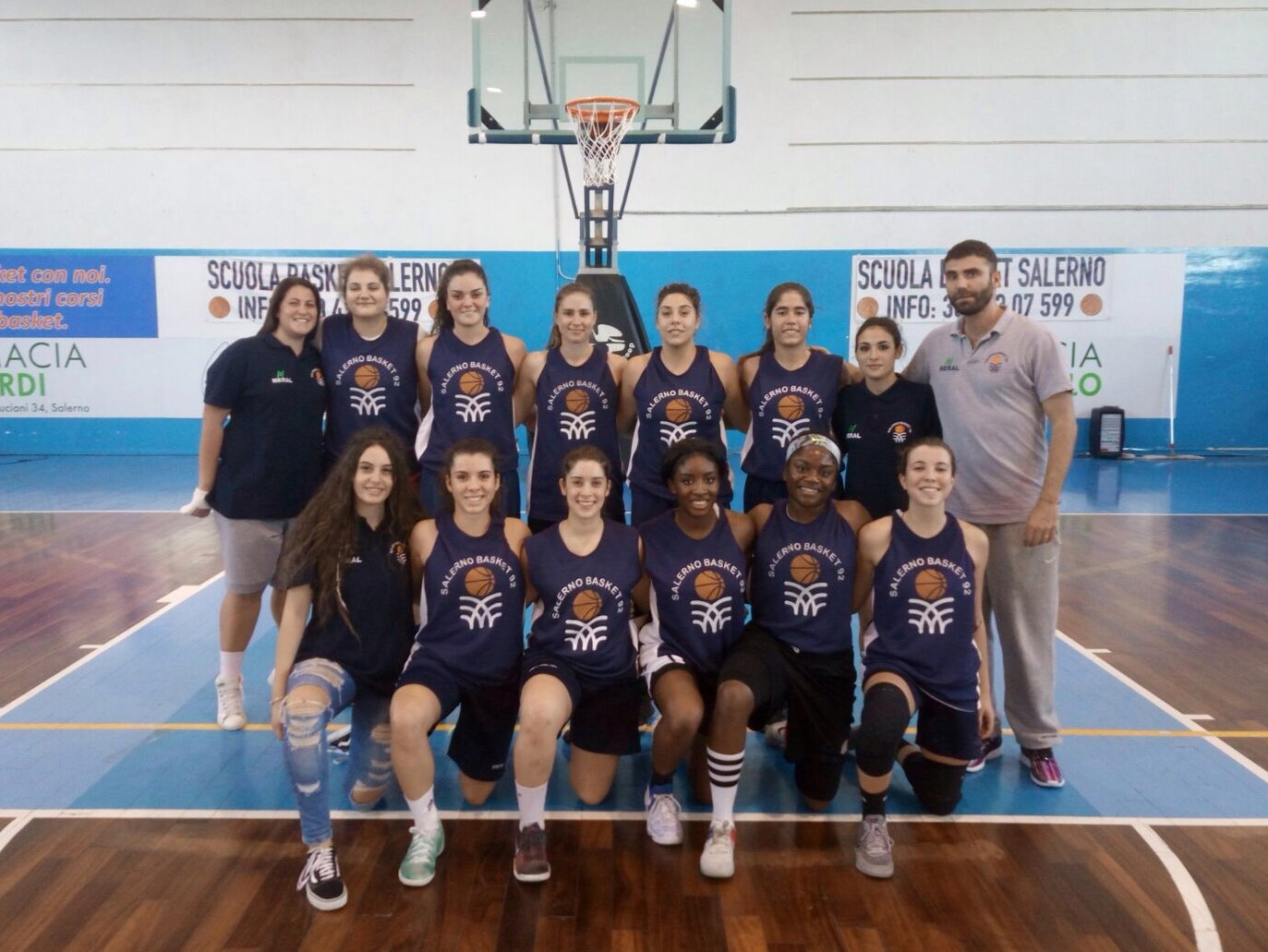 salerno basket 2017-18