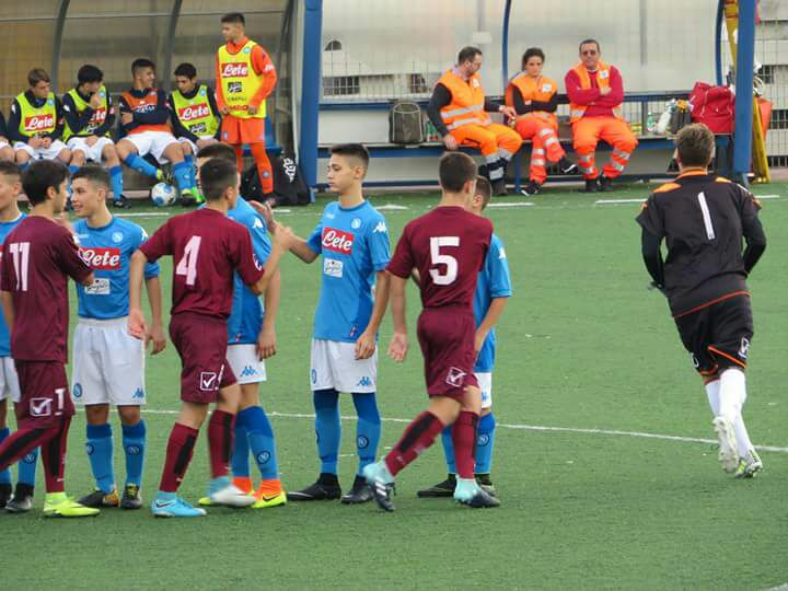napoli salernitana under 15