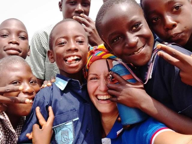 Ilaria galbusera in kenia