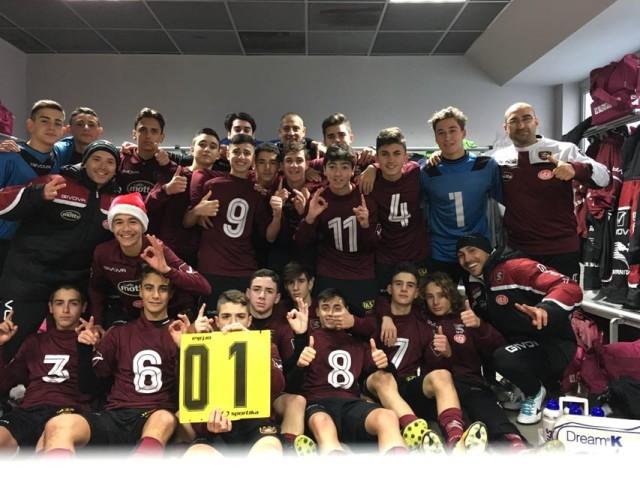 salernitana under 15 a Pescara
